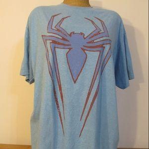 SPIDERMAN! Blue T-Shirt 2XL